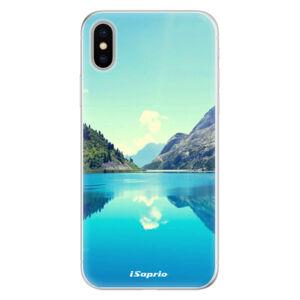 Silikónové puzdro iSaprio - Lake 01 - iPhone X