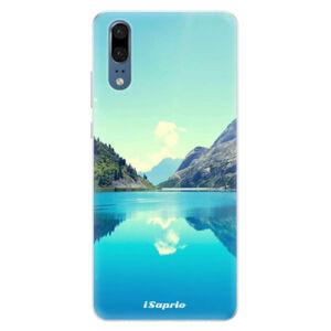 Silikónové puzdro iSaprio - Lake 01 - Huawei P20