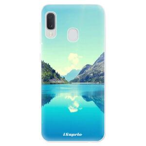 Odolné silikónové puzdro iSaprio - Lake 01 - Samsung Galaxy A20e