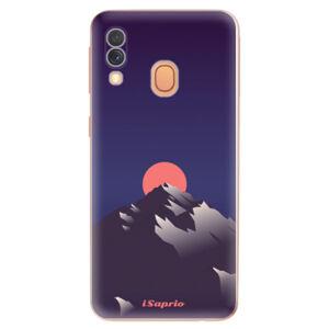 Odolné silikónové puzdro iSaprio - Mountains 04 - Samsung Galaxy A40