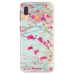 Plastové puzdro iSaprio - Blossom 01 - Samsung Galaxy A40