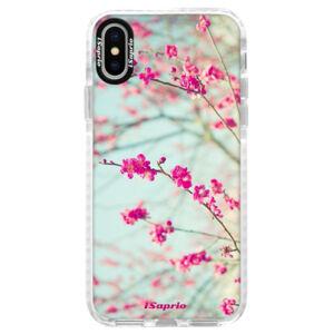Silikónové púzdro Bumper iSaprio - Blossom 01 - iPhone X
