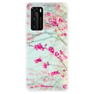 Odolné silikónové puzdro iSaprio - Blossom 01 - Huawei P40