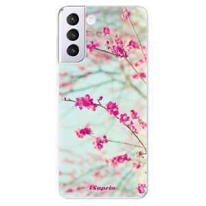 Odolné silikónové puzdro iSaprio - Blossom 01 - Samsung Galaxy S21+
