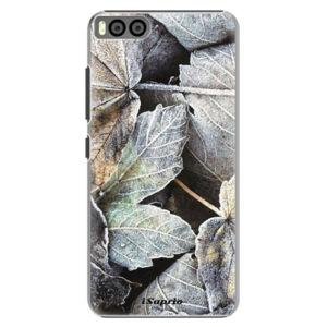 Plastové puzdro iSaprio - Old Leaves 01 - Xiaomi Mi6