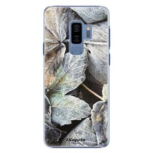 Plastové puzdro iSaprio - Old Leaves 01 - Samsung Galaxy S9 Plus