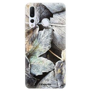 Odolné silikonové pouzdro iSaprio - Old Leaves 01 - Huawei Nova 4