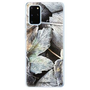 Odolné silikónové puzdro iSaprio - Old Leaves 01 - Samsung Galaxy S20+