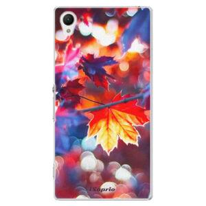Plastové puzdro iSaprio - Autumn Leaves 02 - Sony Xperia Z1