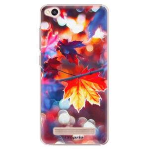 Plastové puzdro iSaprio - Autumn Leaves 02 - Xiaomi Redmi 4A
