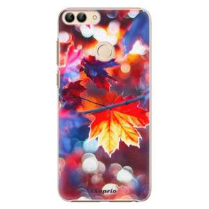 Plastové puzdro iSaprio - Autumn Leaves 02 - Huawei P Smart