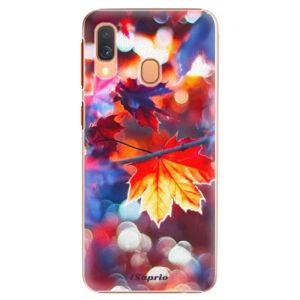 Plastové puzdro iSaprio - Autumn Leaves 02 - Samsung Galaxy A40
