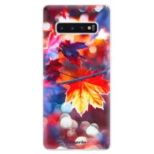 Odolné silikonové pouzdro iSaprio - Autumn Leaves 02 - Samsung Galaxy S10+