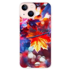 Odolné silikónové puzdro iSaprio - Autumn Leaves 02 - iPhone 13 mini