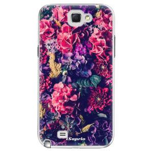 Plastové puzdro iSaprio - Flowers 10 - Samsung Galaxy Note 2