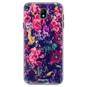 Plastové puzdro iSaprio - Flowers 10 - Samsung Galaxy J7 2017