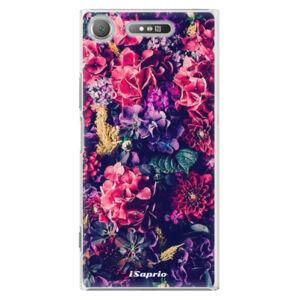 Plastové puzdro iSaprio - Flowers 10 - Sony Xperia XZ1