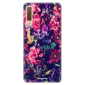 Odolné silikónové puzdro iSaprio - Flowers 10 - Samsung Galaxy A7 (2018)