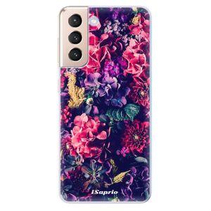 Odolné silikónové puzdro iSaprio - Flowers 10 - Samsung Galaxy S21