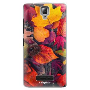 Plastové puzdro iSaprio - Autumn Leaves 03 - Lenovo A2010