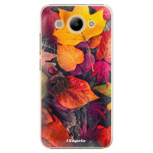 Plastové puzdro iSaprio - Autumn Leaves 03 - Huawei Y3 2017
