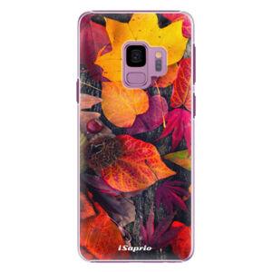 Plastové puzdro iSaprio - Autumn Leaves 03 - Samsung Galaxy S9