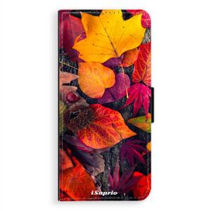 Flipové puzdro iSaprio - Autumn Leaves 03 - Samsung Galaxy A8 Plus