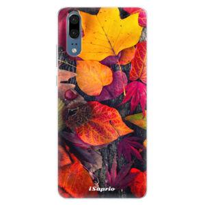 Silikónové puzdro iSaprio - Autumn Leaves 03 - Huawei P20