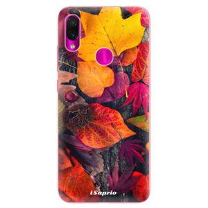 Odolné silikonové pouzdro iSaprio - Autumn Leaves 03 - Xiaomi Redmi Note 7