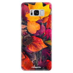 Odolné silikónové puzdro iSaprio - Autumn Leaves 03 - Samsung Galaxy S8