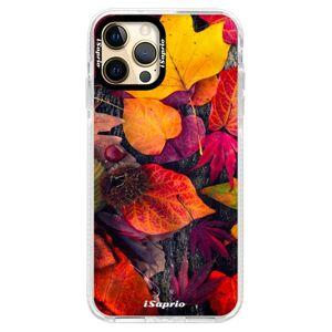 Silikónové puzdro Bumper iSaprio - Autumn Leaves 03 - iPhone 12 Pro