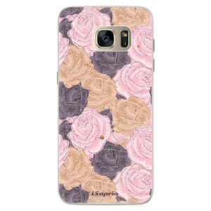 Silikónové puzdro iSaprio - Roses 03 - Samsung Galaxy S7