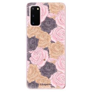 Odolné silikónové puzdro iSaprio - Roses 03 - Samsung Galaxy S20