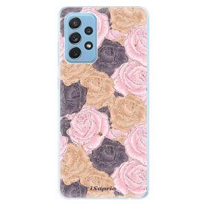 Odolné silikónové puzdro iSaprio - Roses 03 - Samsung Galaxy A72