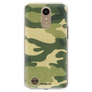 Plastové puzdro iSaprio - Green Camuflage 01 - LG K10 2017