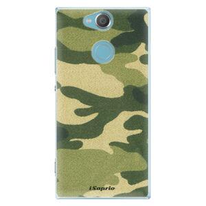 Plastové puzdro iSaprio - Green Camuflage 01 - Sony Xperia XA2