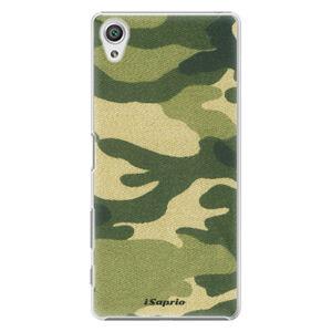 Plastové puzdro iSaprio - Green Camuflage 01 - Sony Xperia X