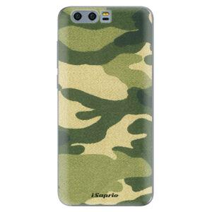 Silikónové puzdro iSaprio - Green Camuflage 01 - Huawei Honor 9
