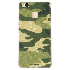 Odolné silikónové puzdro iSaprio - Green Camuflage 01 - Huawei Ascend P9 Lite