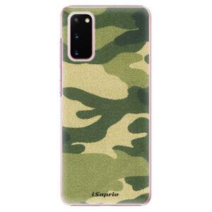 Plastové puzdro iSaprio - Green Camuflage 01 - Samsung Galaxy S20