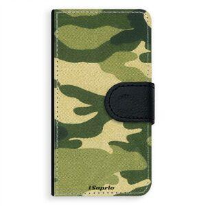 Univerzálne flipové puzdro iSaprio - Green Camuflage 01 - Flip S