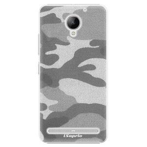 Plastové puzdro iSaprio - Gray Camuflage 02 - Lenovo C2