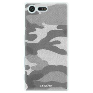 Plastové puzdro iSaprio - Gray Camuflage 02 - Sony Xperia X Compact