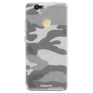 Plastové puzdro iSaprio - Gray Camuflage 02 - Huawei Nova
