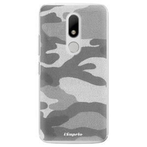 Plastové puzdro iSaprio - Gray Camuflage 02 - Lenovo Moto M