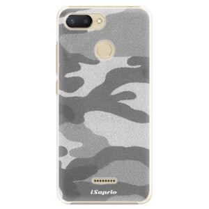 Plastové puzdro iSaprio - Gray Camuflage 02 - Xiaomi Redmi 6