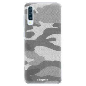 Plastové puzdro iSaprio - Gray Camuflage 02 - Samsung Galaxy A50