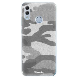 Odolné silikonové pouzdro iSaprio - Gray Camuflage 02 - Huawei Honor 10 Lite