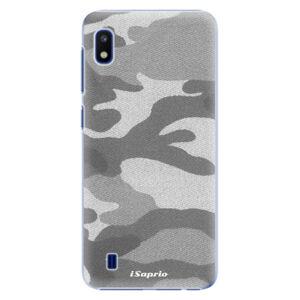 Plastové puzdro iSaprio - Gray Camuflage 02 - Samsung Galaxy A10