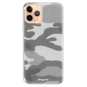Odolné silikónové puzdro iSaprio - Gray Camuflage 02 - iPhone 11 Pro
